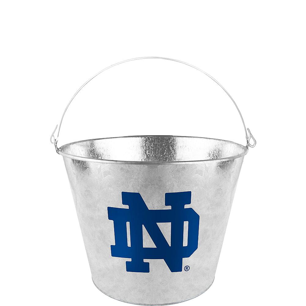 Notre Dame Fighting Irish Galvanized Bucket Image #1