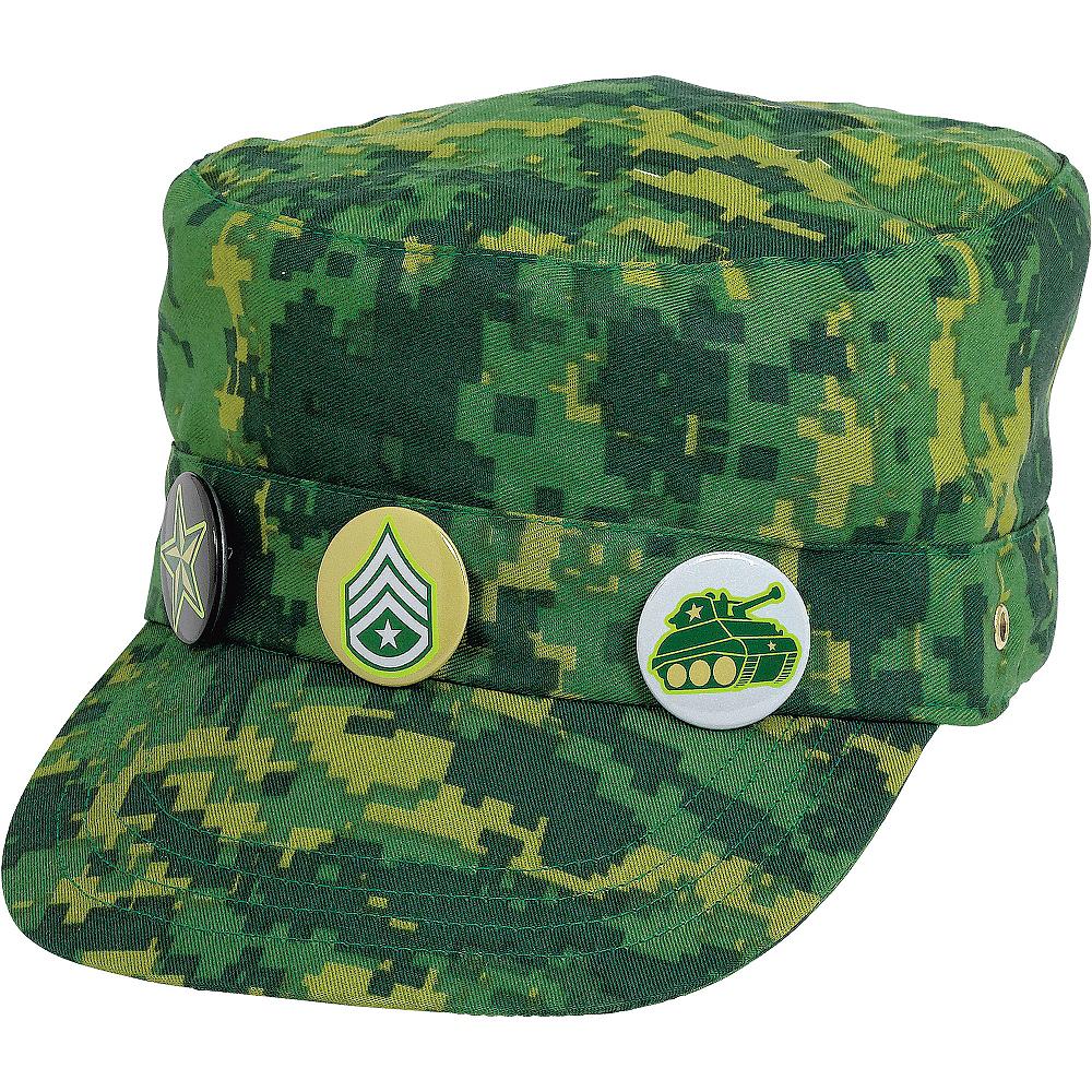 Child Camouflage Hat Image #1