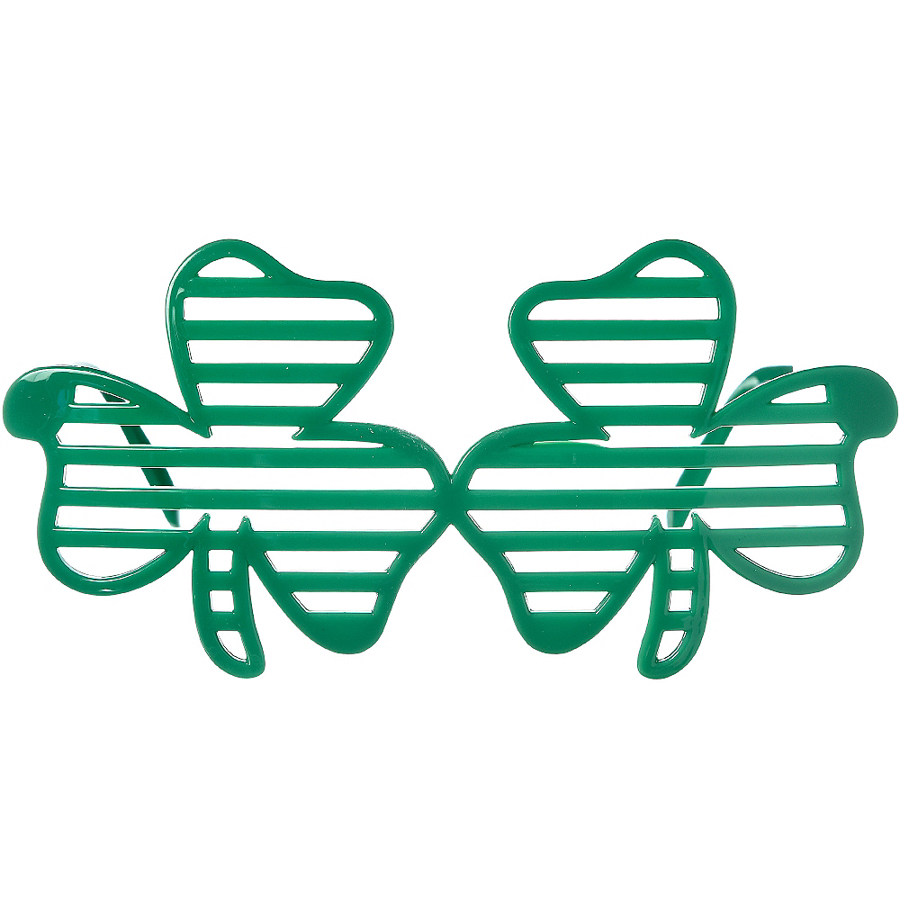 Shamrock Slotted Glasses Image #1
