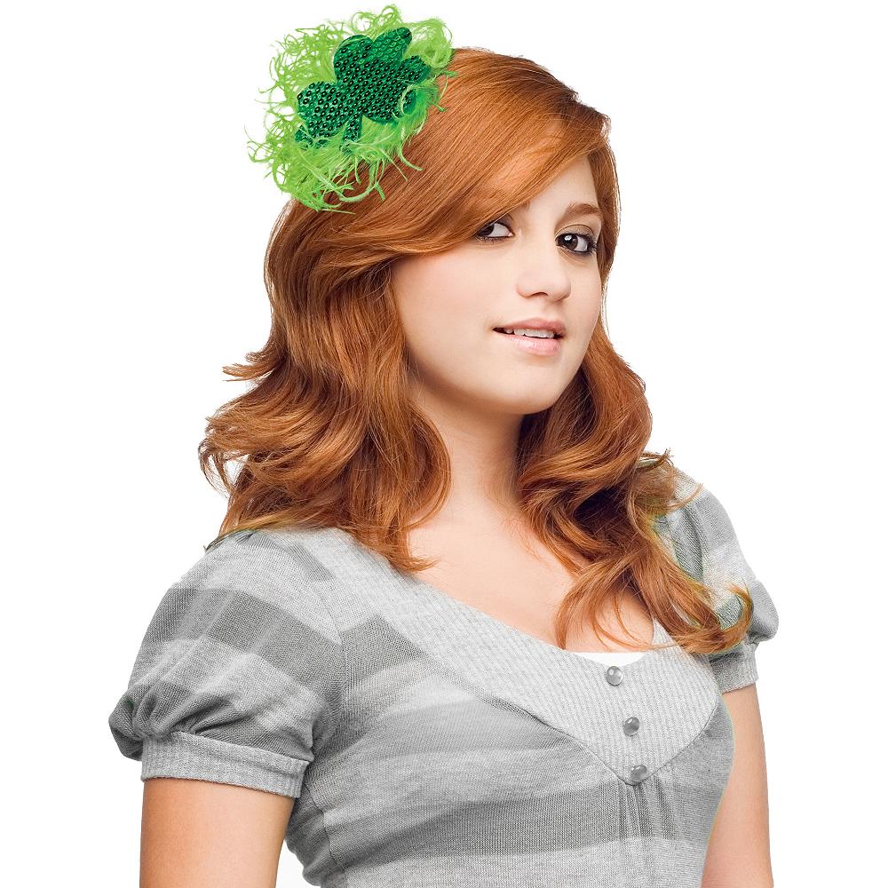Shamrock Hair Clip Image #1