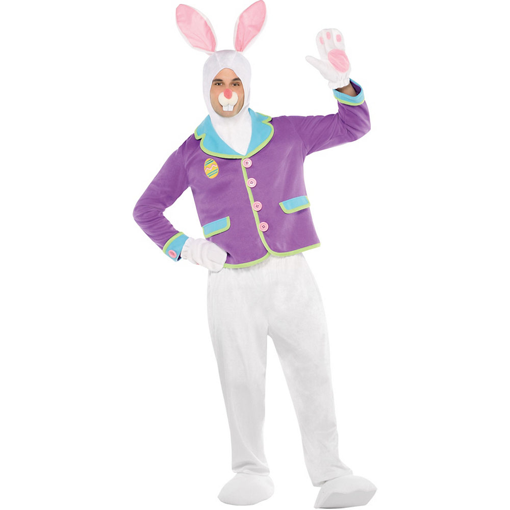 c26773aa101 Adult Purple Bunny Costume Image  1 ...
