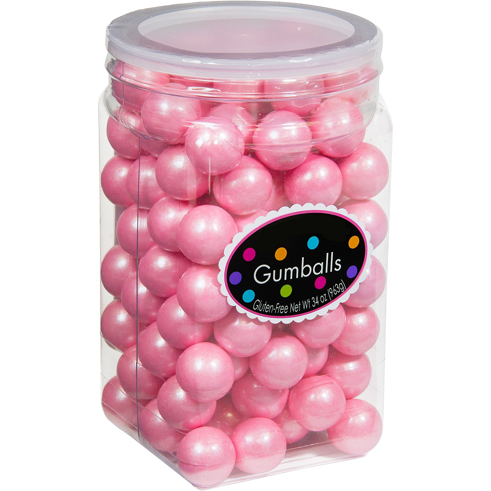 Pink Gumballs 115pc | Party City