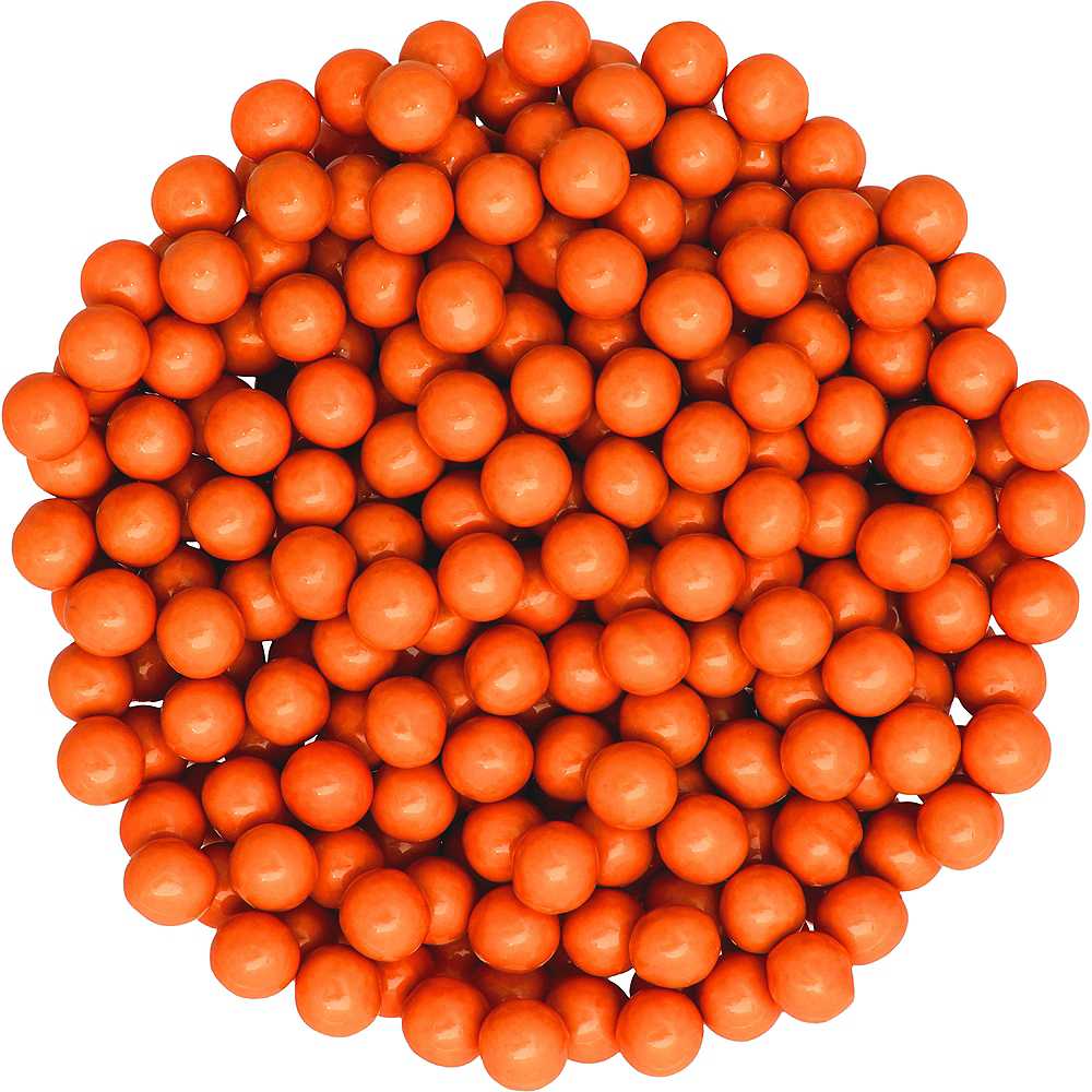 Orange Chocolate Sixlets 1330pc Image #2