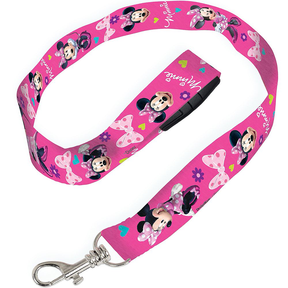 Minnie Mouse Lanyard Image #1