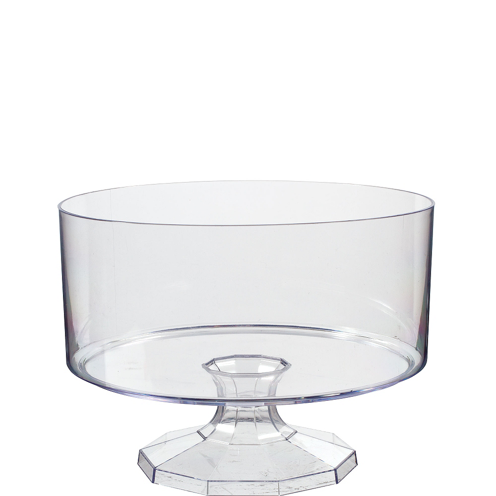 Small CLEAR Plastic Trifle Container Image #1