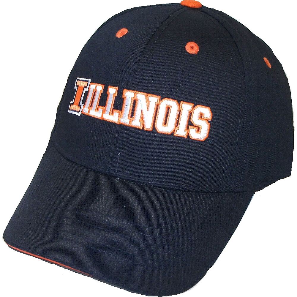 new products 7f99d 88e90 ... discount illinois fighting illini baseball hat image 1 fd7db 1c25e