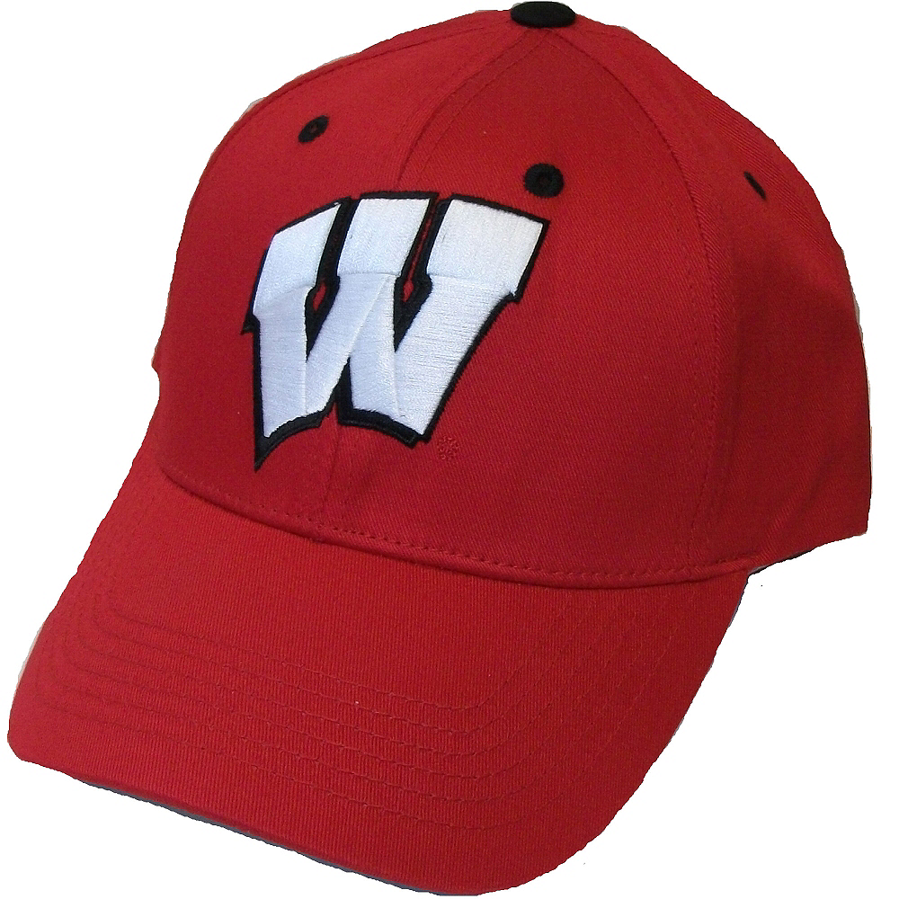 Wisconsin Badgers Baseball Hat Image #1