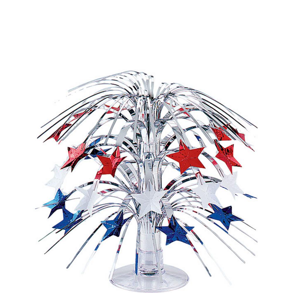 Mini Patriotic Stars Cascade Centerpiece Image #1