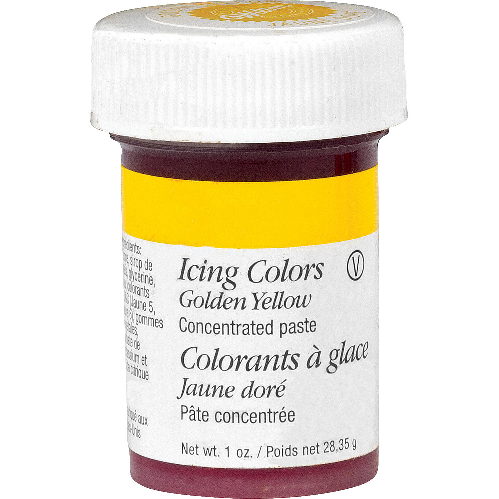 Wilton Golden Yellow Icing Color Image #1