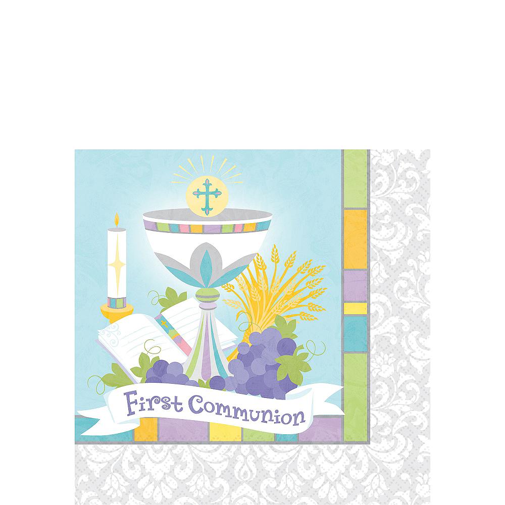 Joyous Communion Beverage Napkins 36ct Image #1