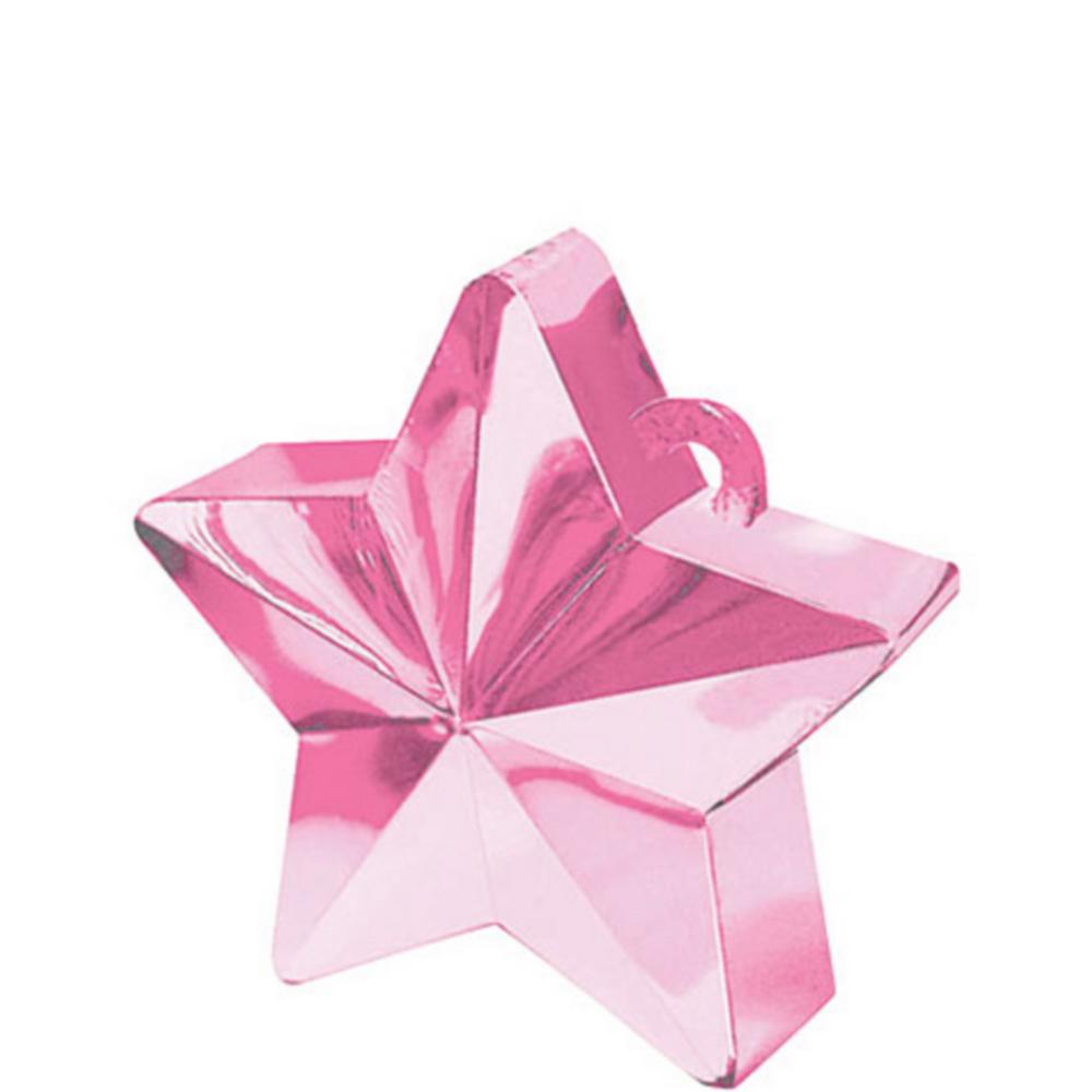 Pink Star Balloon Weight Image #1