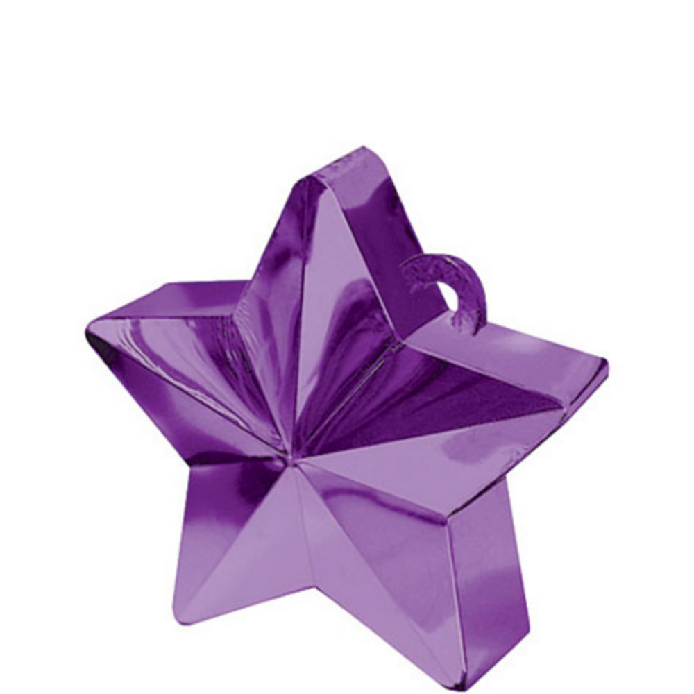 Nav Item for Purple Star Balloon Weight Image #1