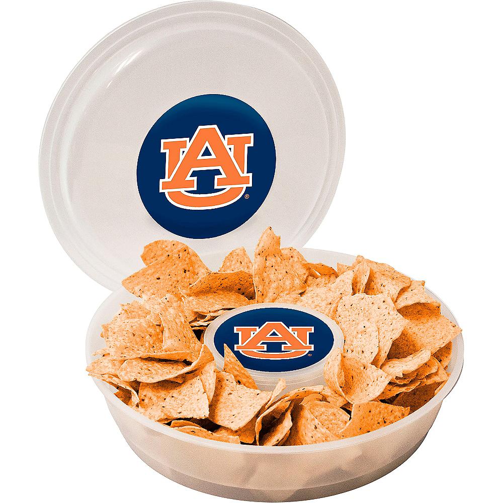 Auburn Tigers Chip & Dip Tray Image #1