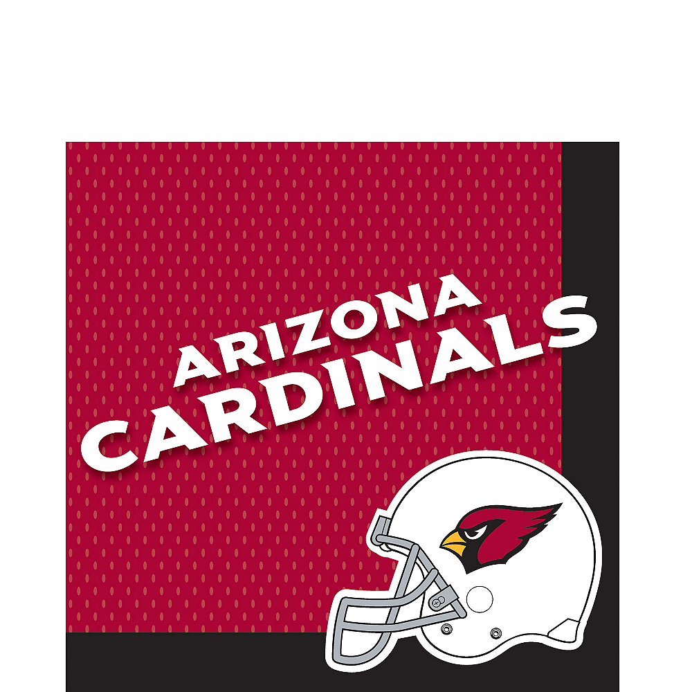 Arizona Cardinals Lunch Napkins 36ct Image #1
