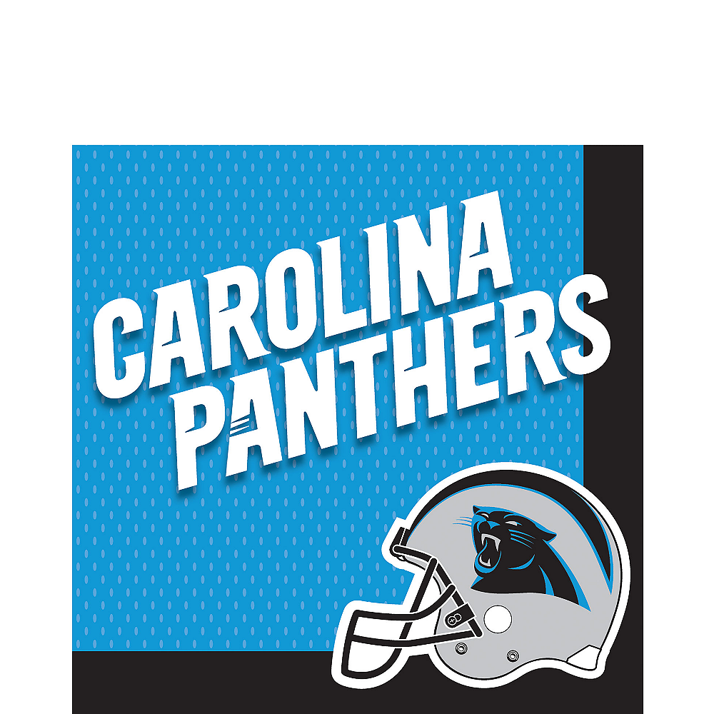Carolina Panthers Lunch Napkins 36ct Image #1
