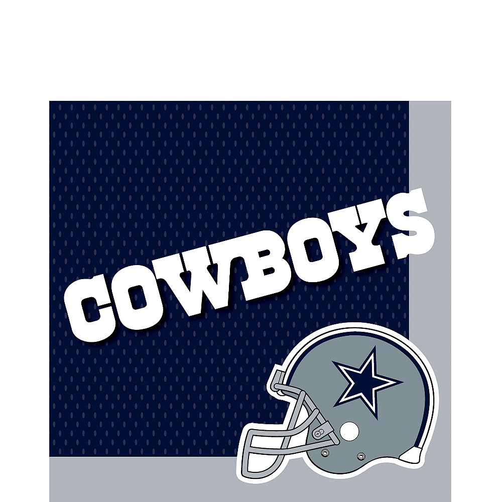 Nav Item for Dallas Cowboys Lunch Napkins 36ct Image #1