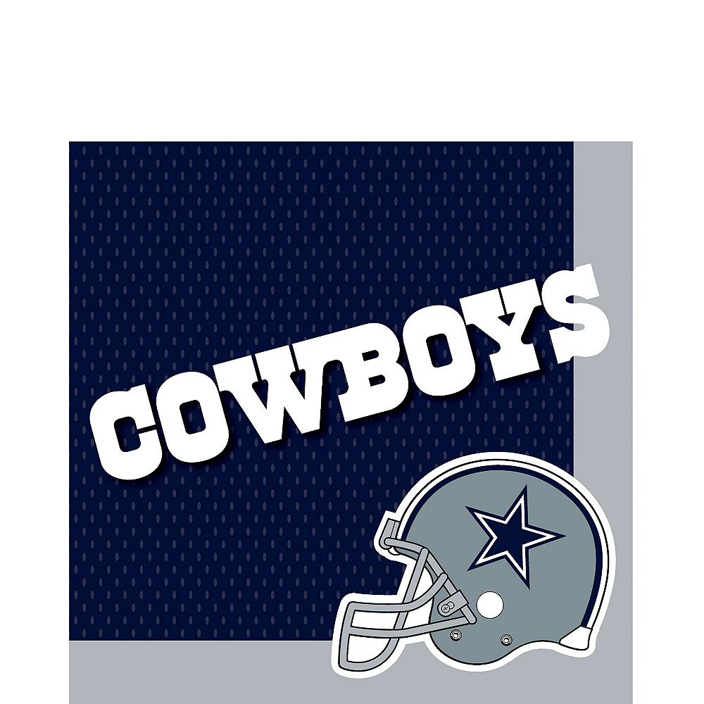 Dallas Cowboys Lunch Napkins 36ct Image #1