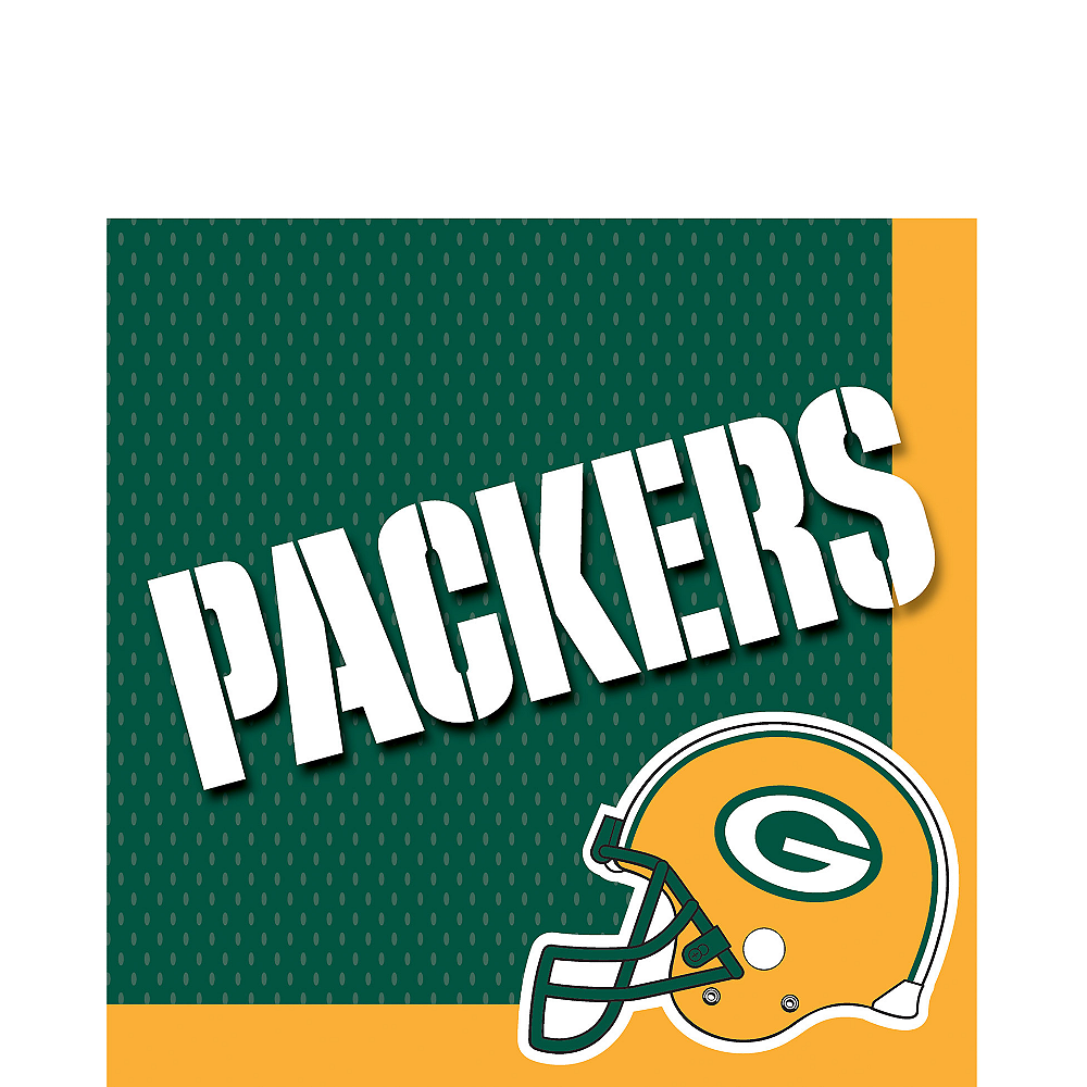 Green Bay Packers Lunch Napkins 36ct Image #1
