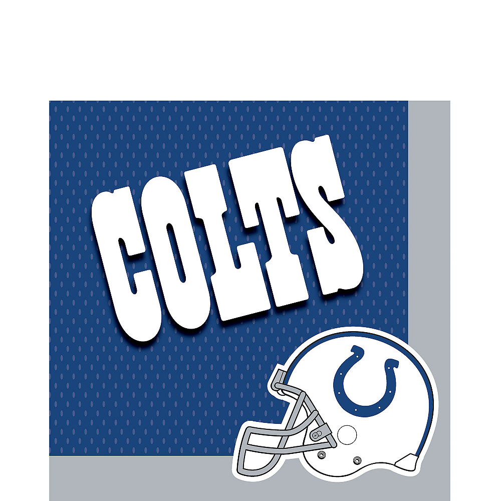 Indianapolis Colts Lunch Napkins 36ct Image #1