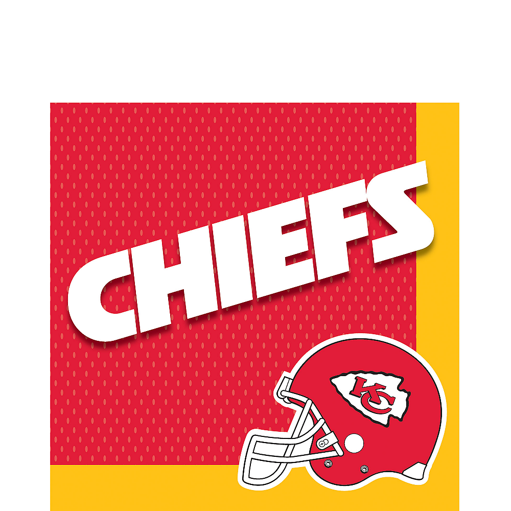 Kansas City Chiefs Lunch Napkins 36ct Image #1