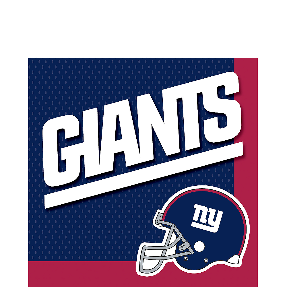 New York Giants Lunch Napkins 36ct Image #1