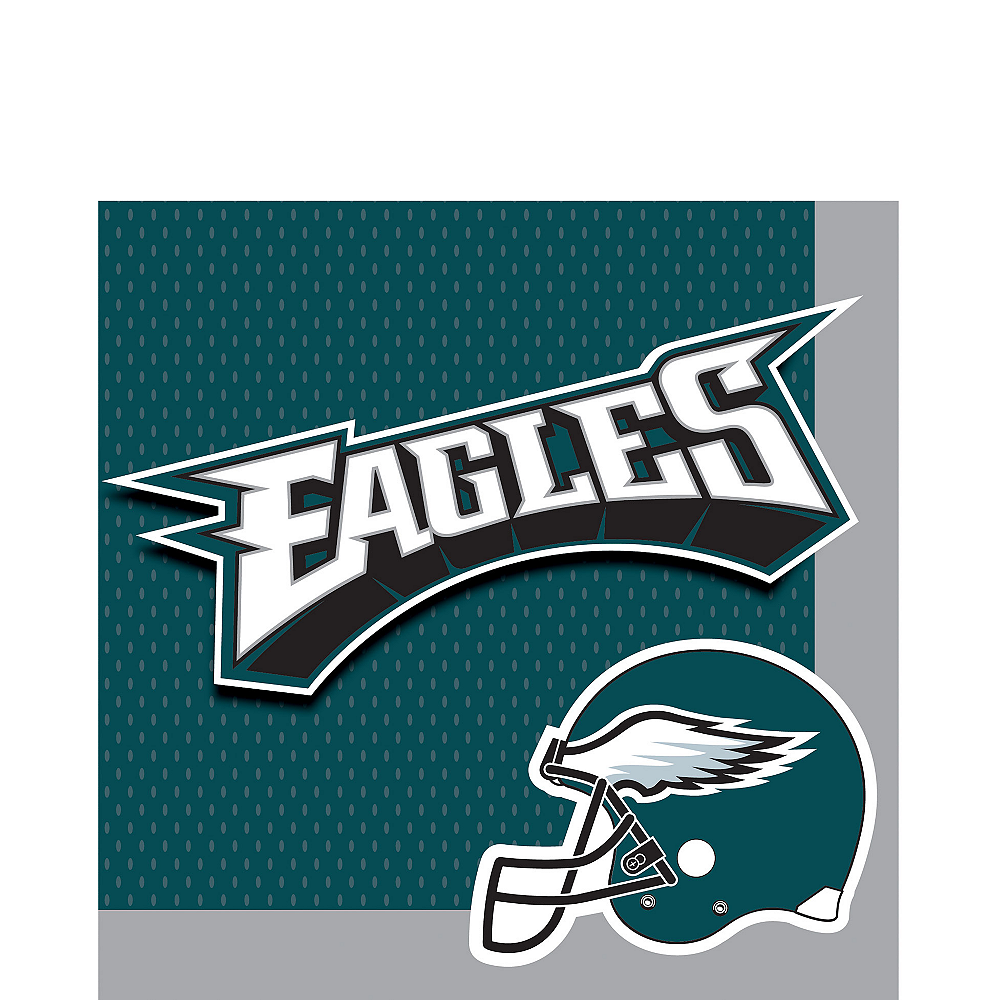 Philadelphia Eagles Lunch Napkins 36ct Image #1
