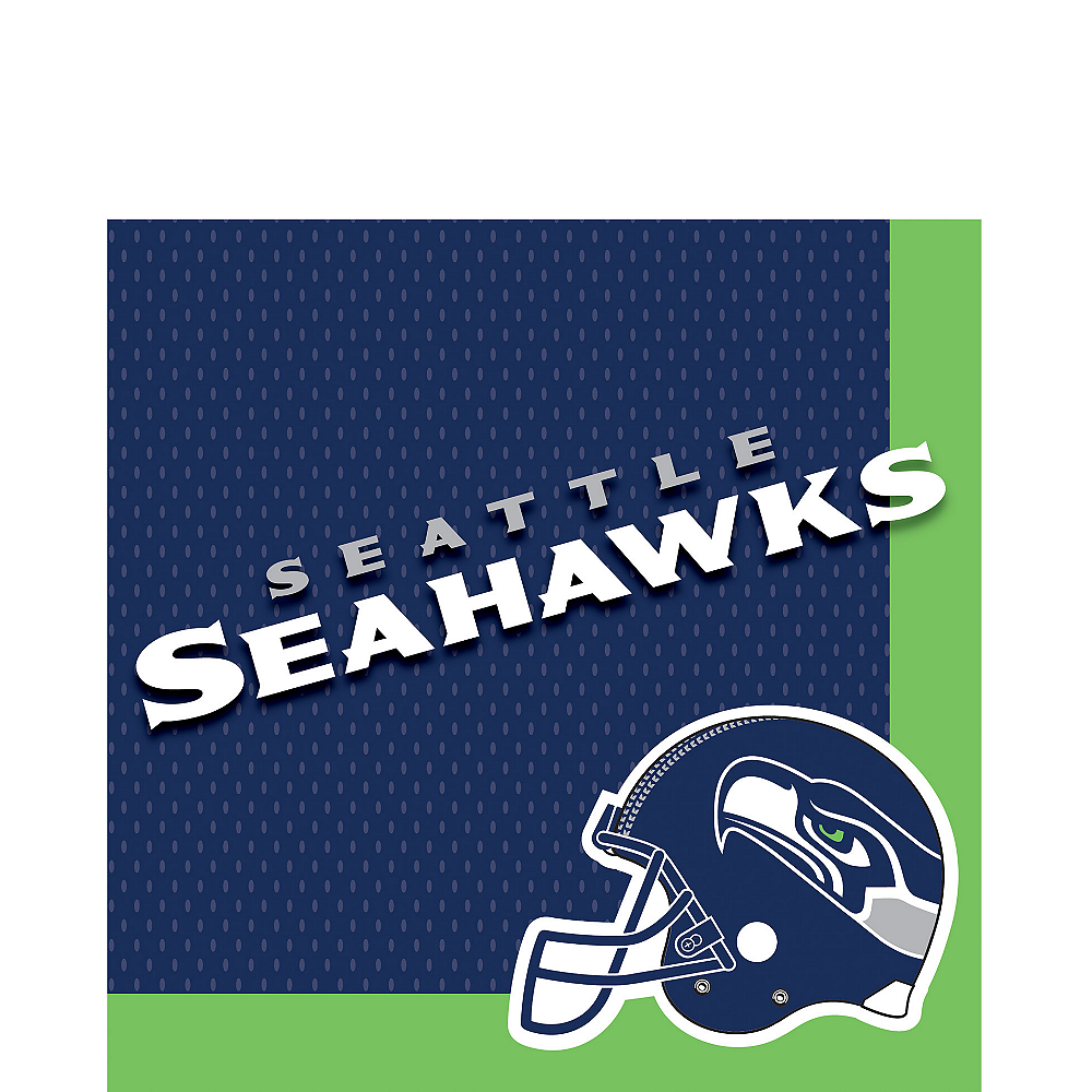 Seattle Seahawks Lunch Napkins 36ct Image #1