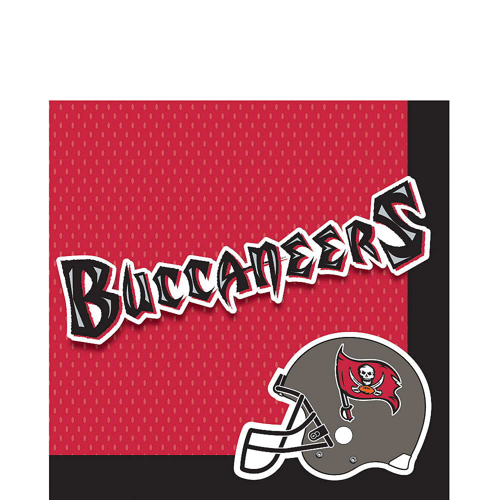 Tampa Bay Buccaneers Lunch Napkins 36ct Image #1