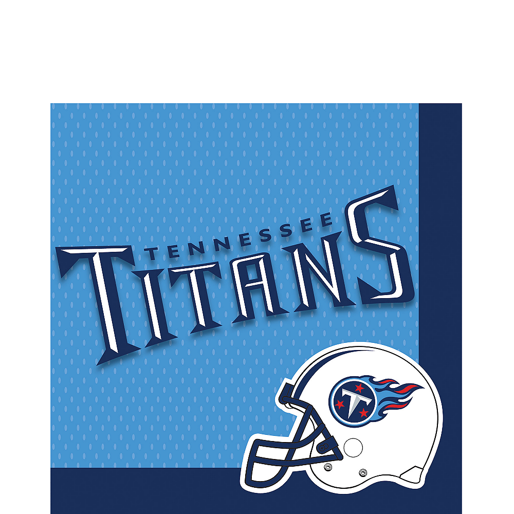 Tennessee Titans Lunch Napkins 36ct Image #1