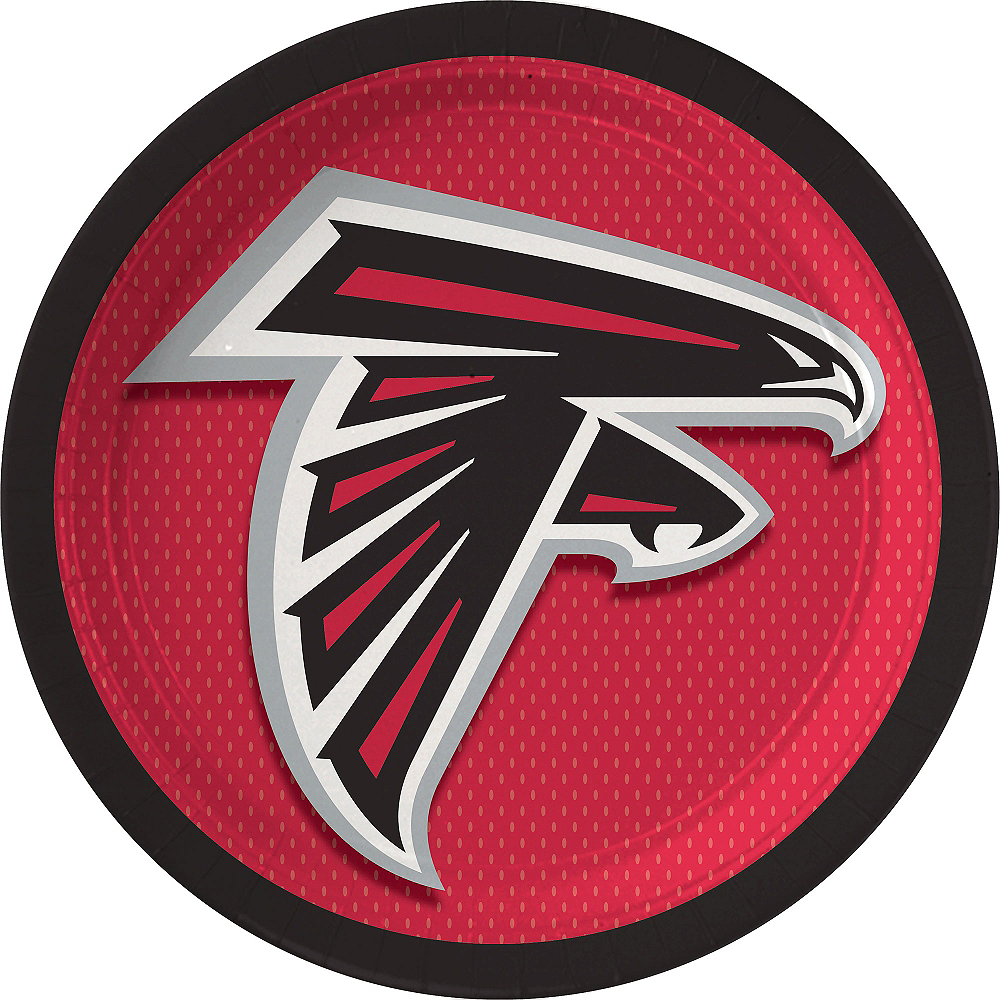 Nav Item for Atlanta Falcons Lunch Plates 18ct Image #1