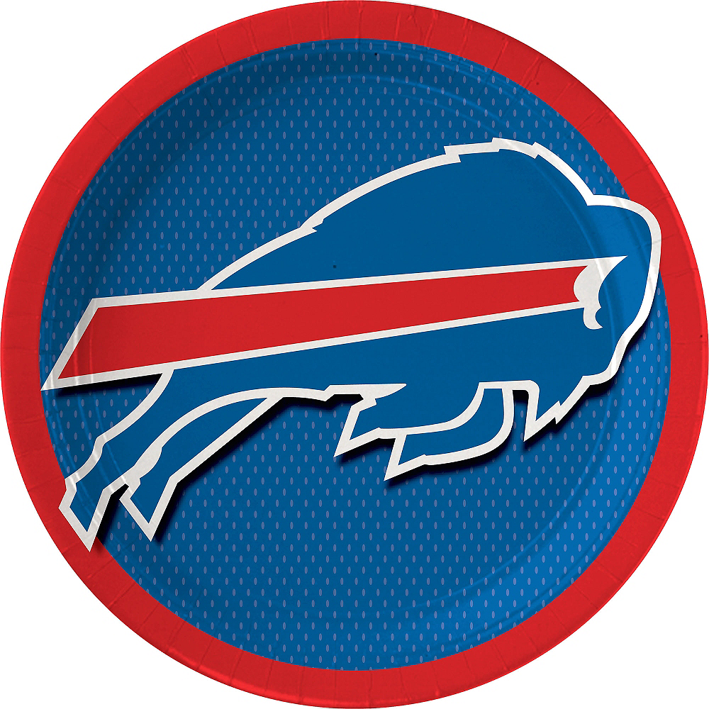Buffalo Bills Lunch Plates 18ct Image #1