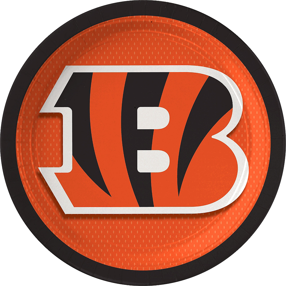 Cincinnati Bengals Lunch Plates 18ct Image #1