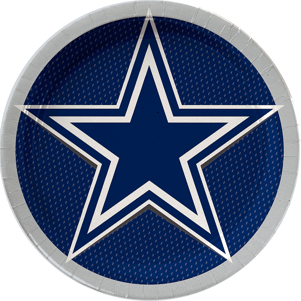 Dallas Cowboys Lunch Plates 18ct Image #1