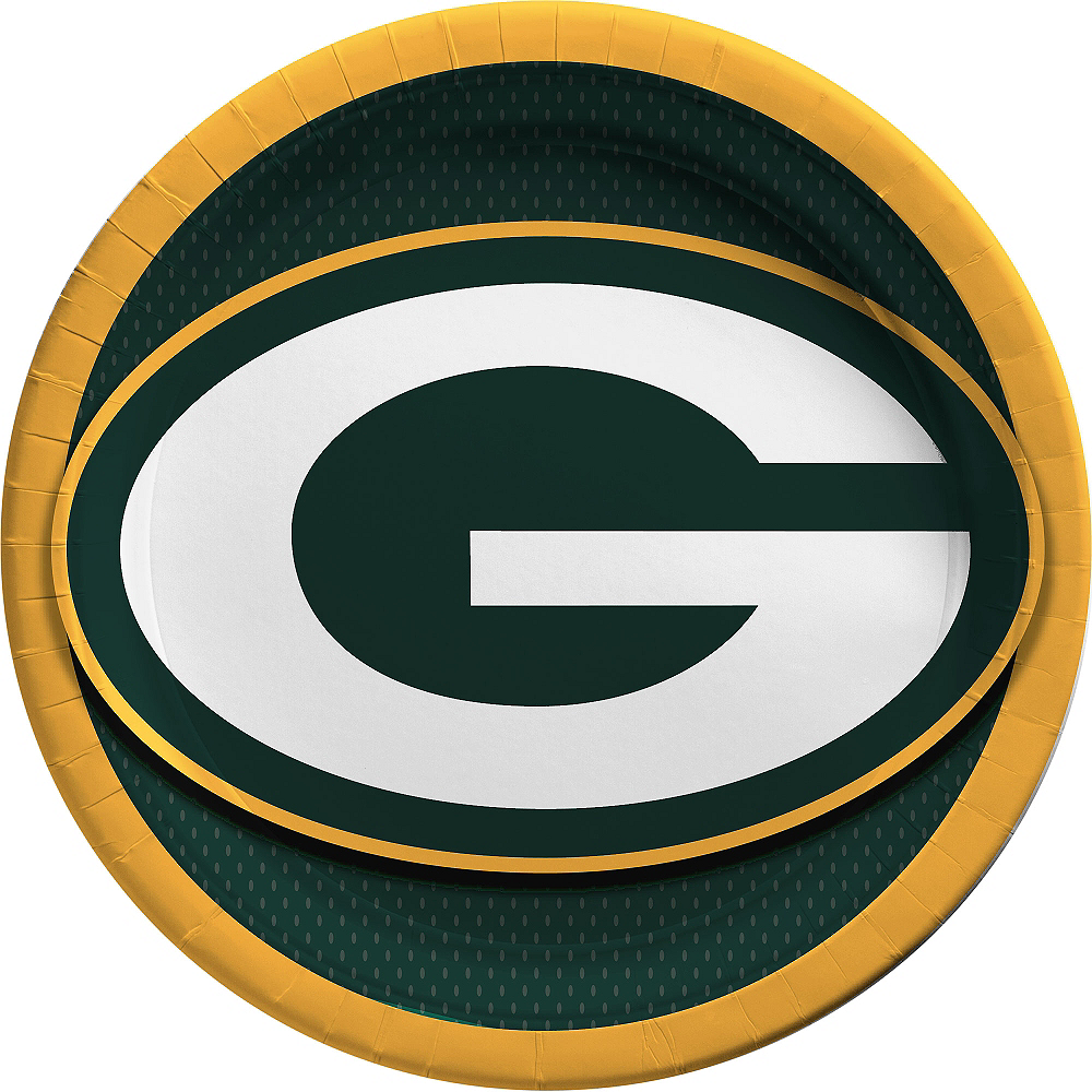 Green Bay Packers Lunch Plates 18ct Image #1