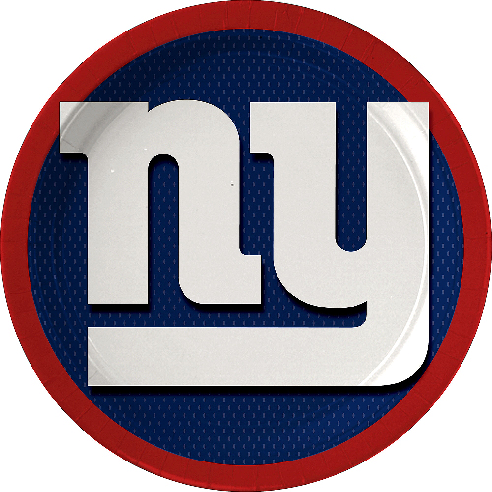 New York Giants Lunch Plates 18ct Image #1