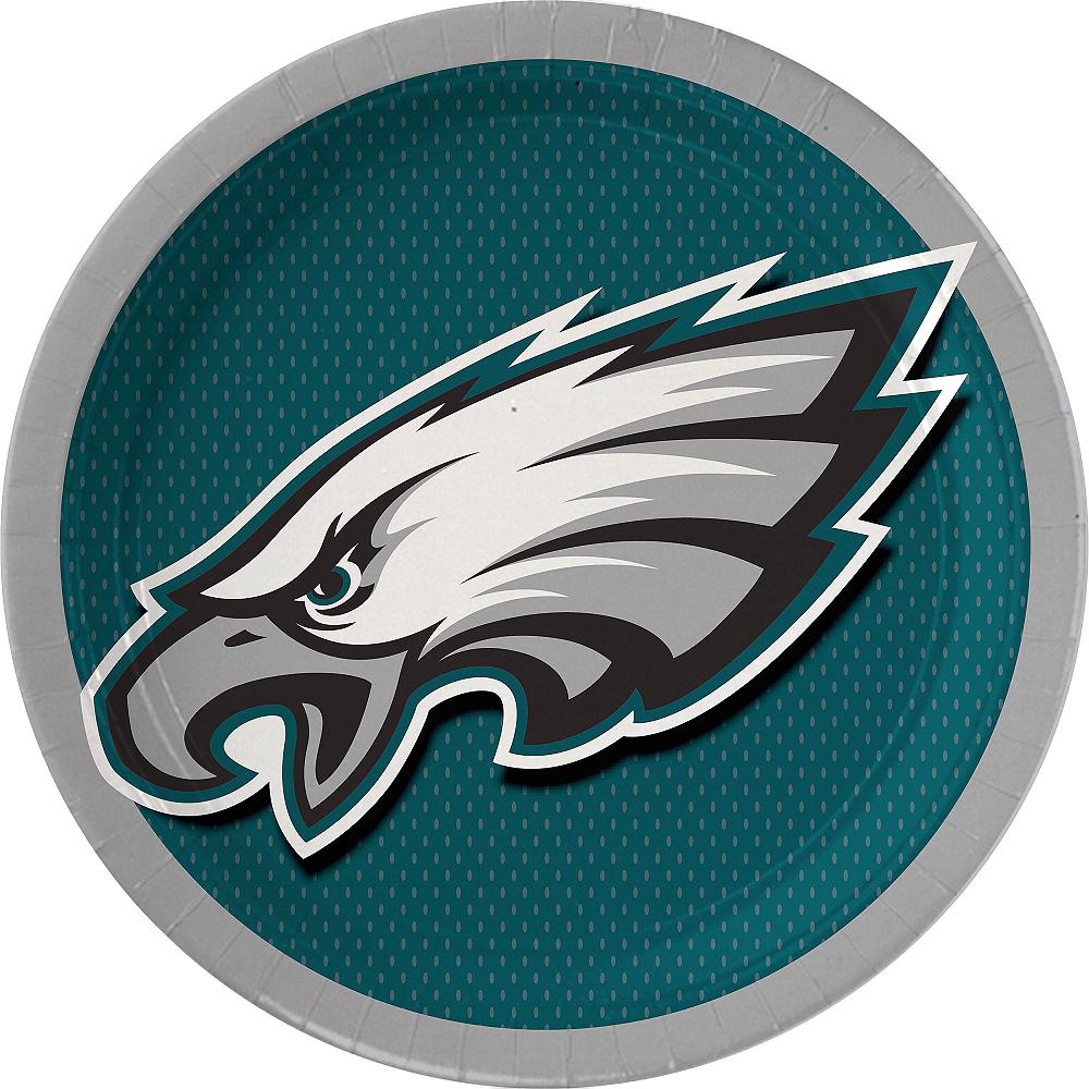 Philadelphia Eagles Lunch Plates 18ct Image #1