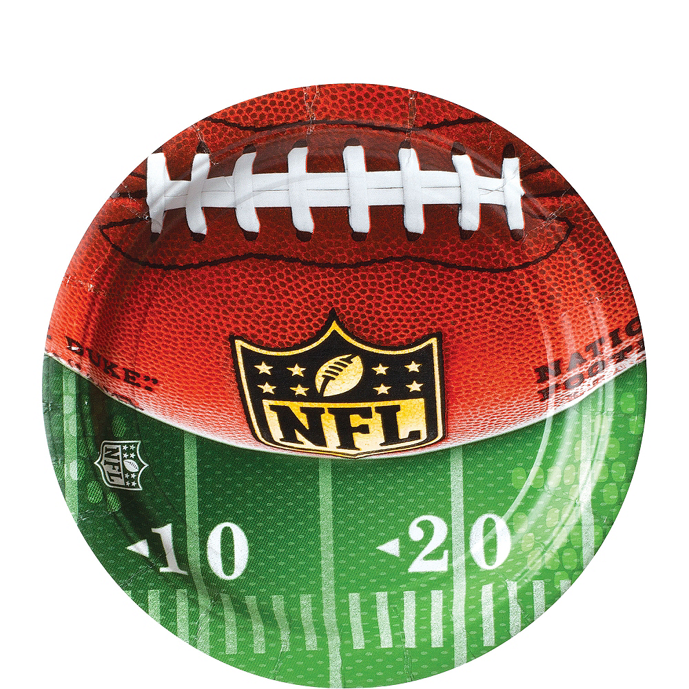Nav Item for NFL Drive Dessert Plates 18ct Image #1