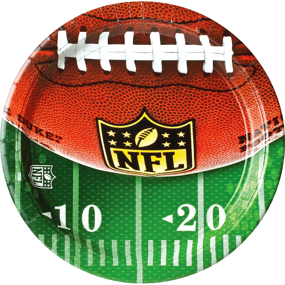 Nav Item for NFL Drive Dinner Plates 18ct Image #1