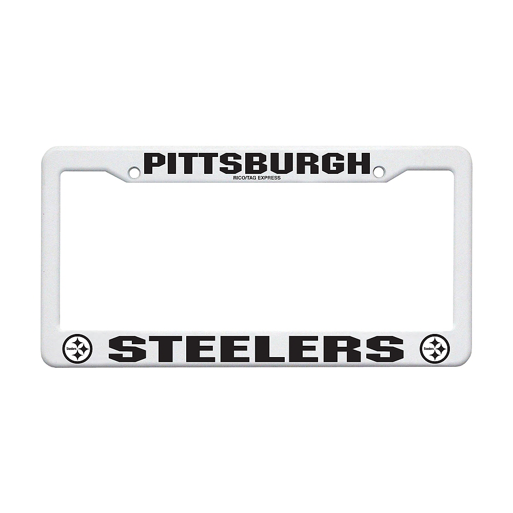 Pittsburgh Steelers License Plate Frame Image #1