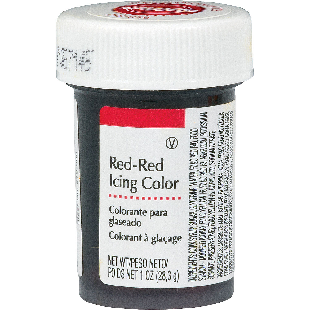 Wilton Red Icing Color Image #1