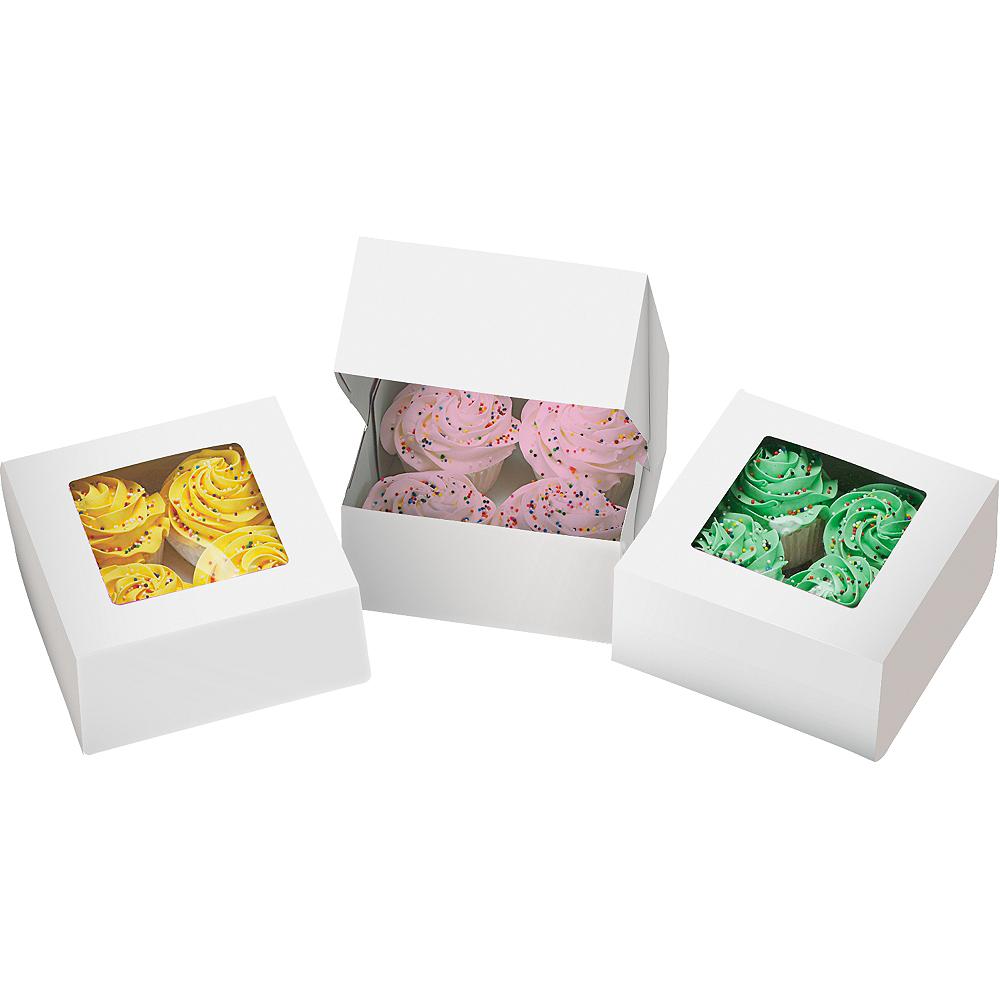 Wilton White Cupcake Boxes 3ct Image #1