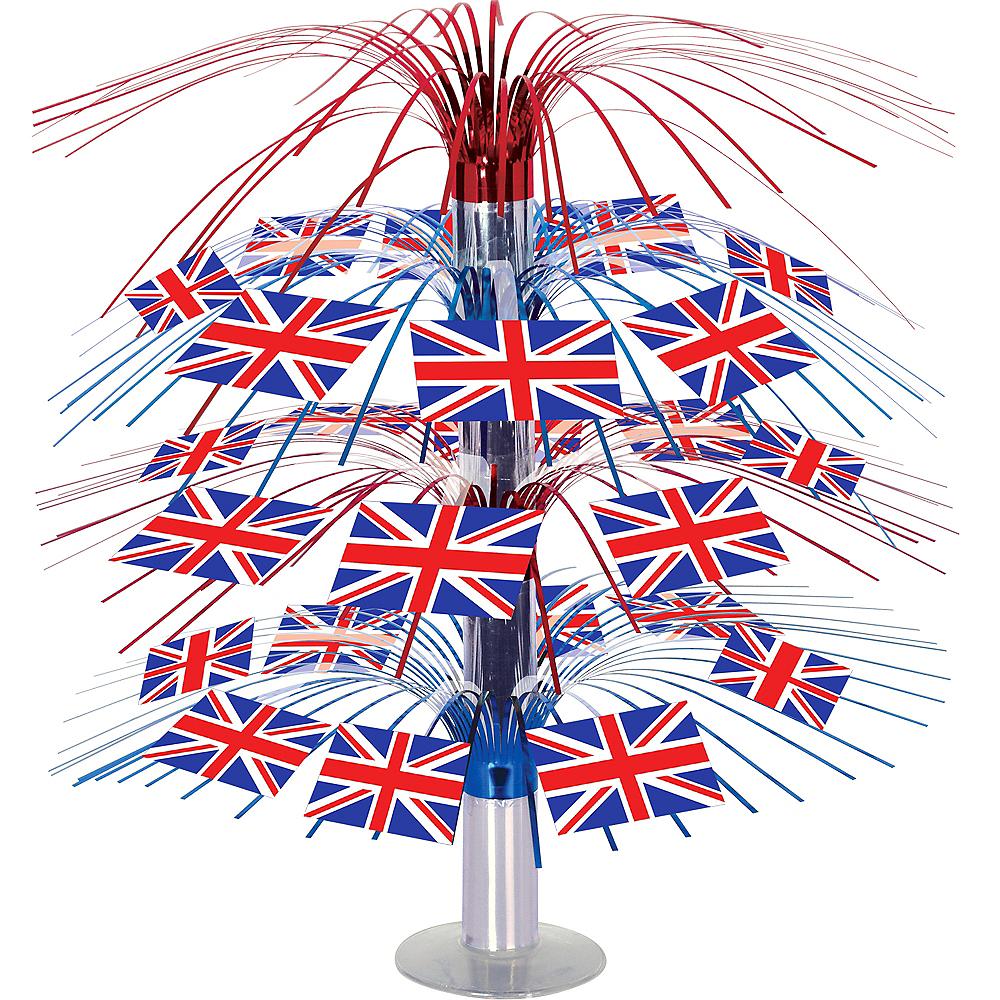 Union Jack Cascade Centerpiece - Great Britain Image #1