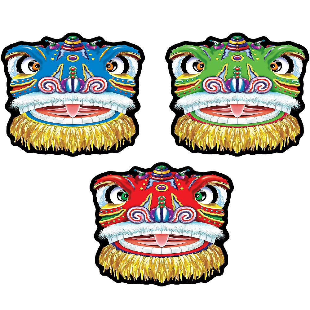 Chinese Dragon Cutouts 3ct Image #1