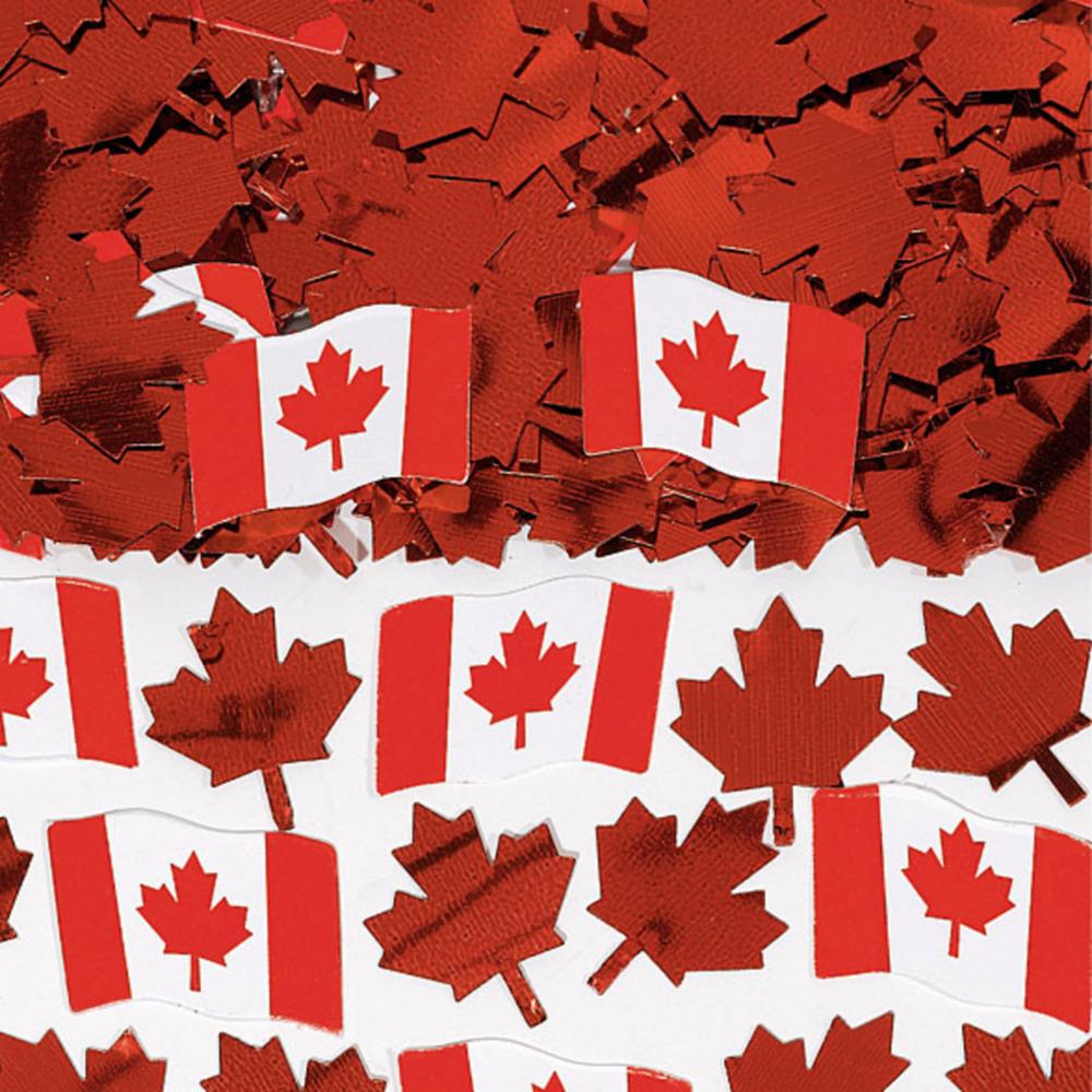 Canadian Flag Confetti 0.5oz Image #1