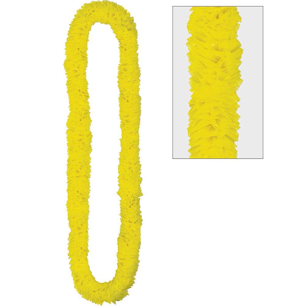 Nav Item for Yellow Lei Image #1