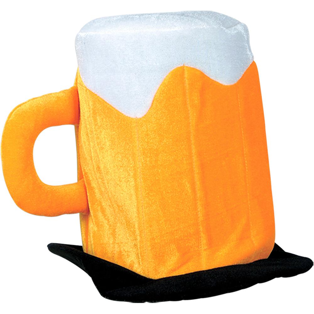Plush Beer Mug Hat Image #1