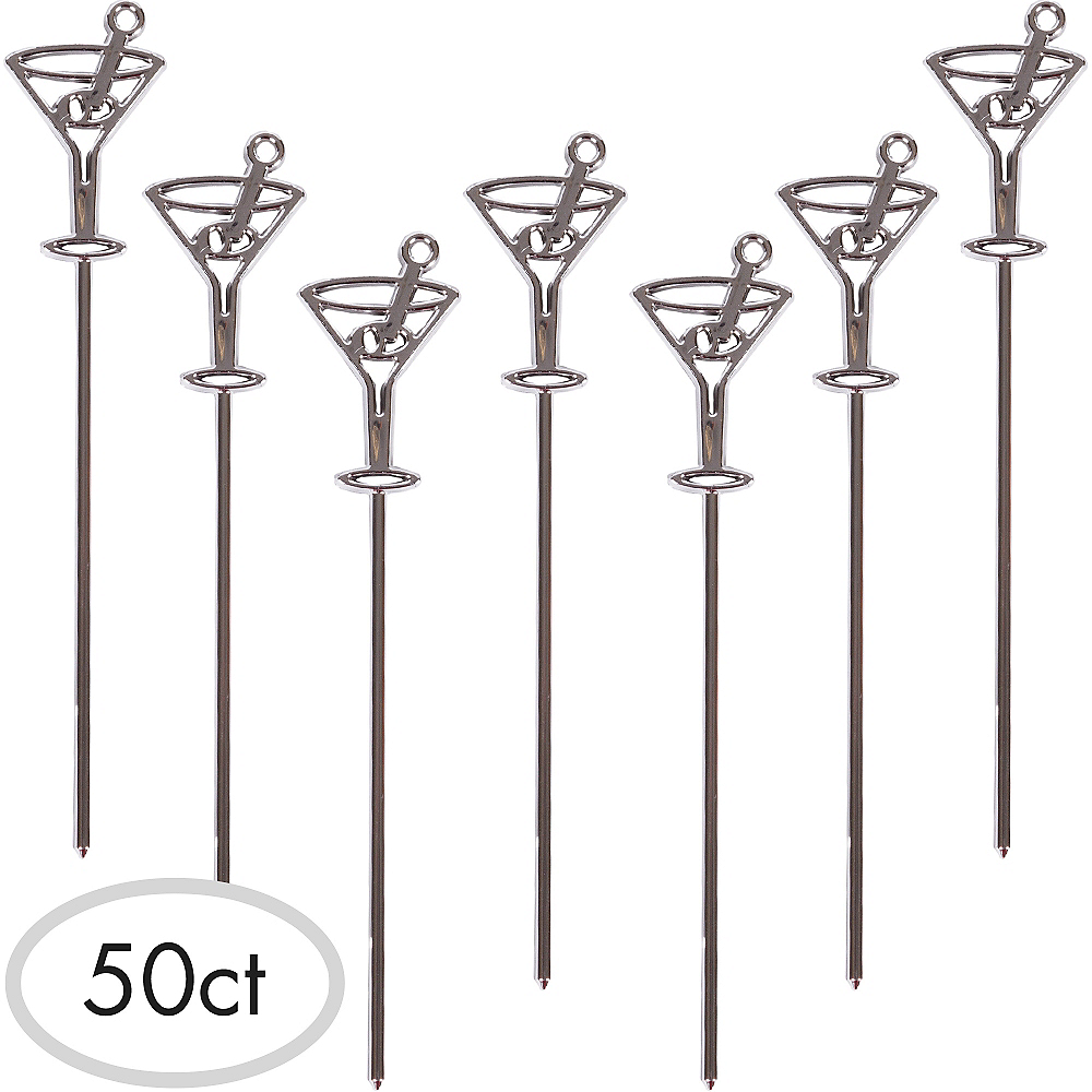 Martini Cocktail Picks 50ct Image #1