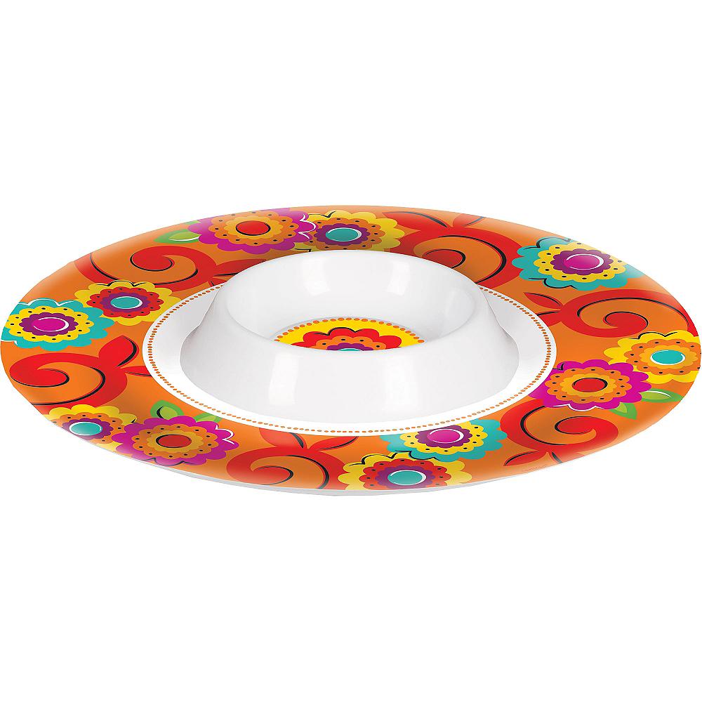 Caliente Fiesta Chip & Dip Tray Image #1
