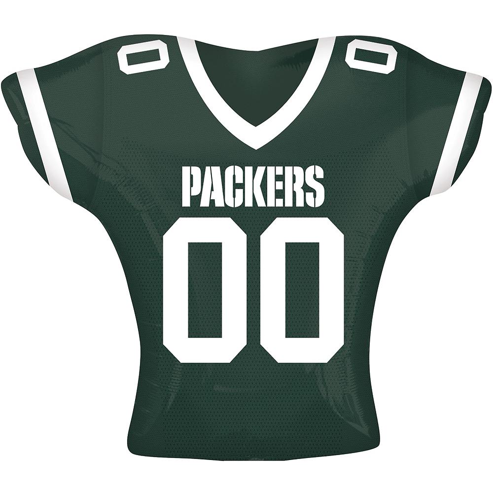 Nav Item for Green Bay Packers Balloon - Jersey Image #1