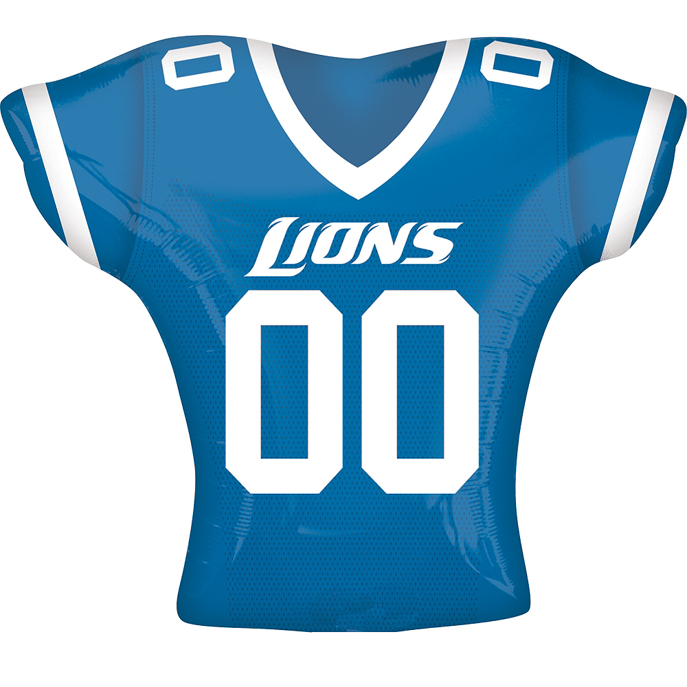 Nav Item for Detroit Lions Balloon - Jersey Image #1